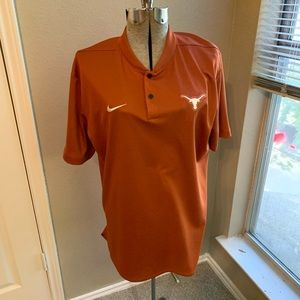 Nike Dri-Fit Texas Longhorns Polo